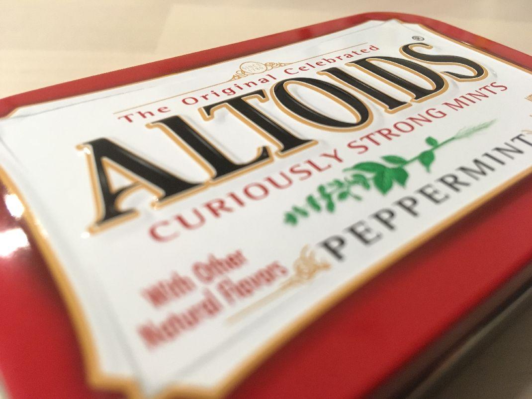 ALTOIDS(アルトイズ)の缶で何を作る?オッサンが小学生に戻る方法