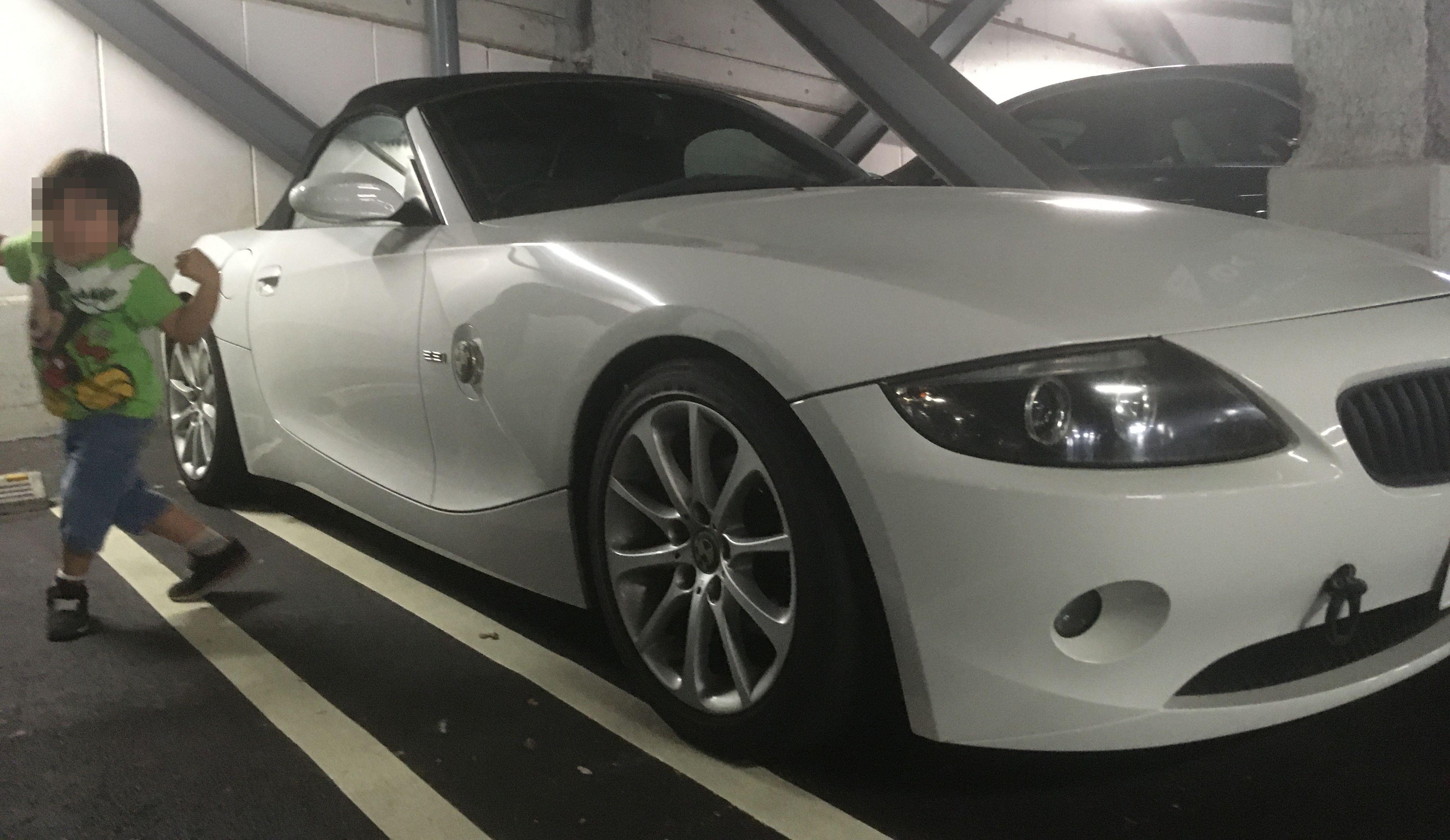 BMWのZ4が納車されました