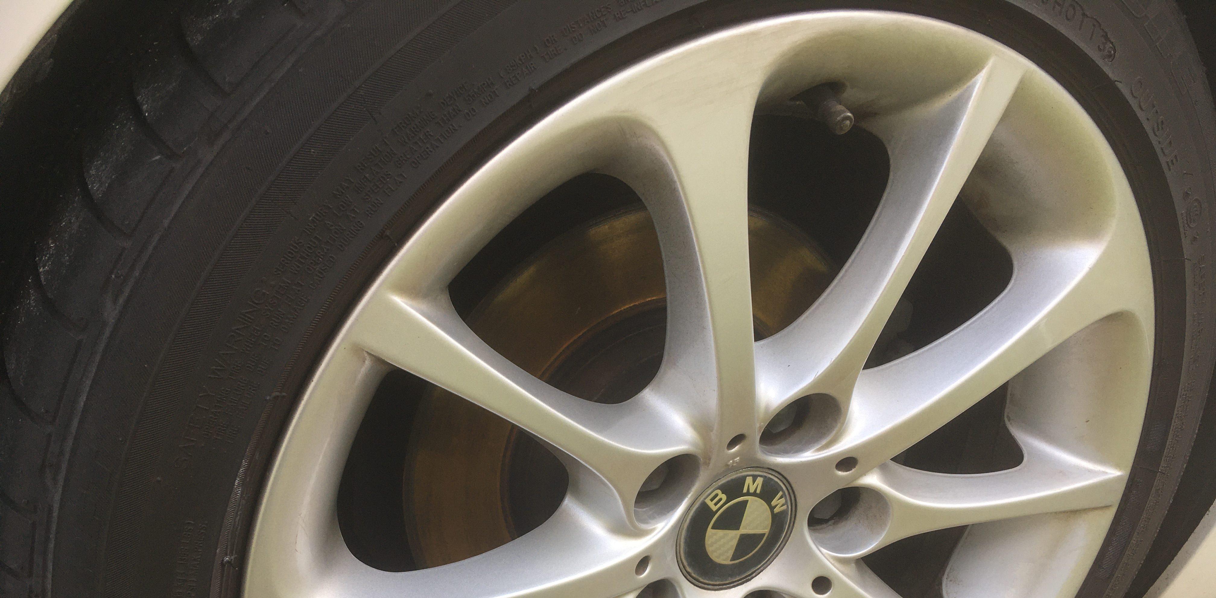 BMWのZ4に標準装備されているタイヤ