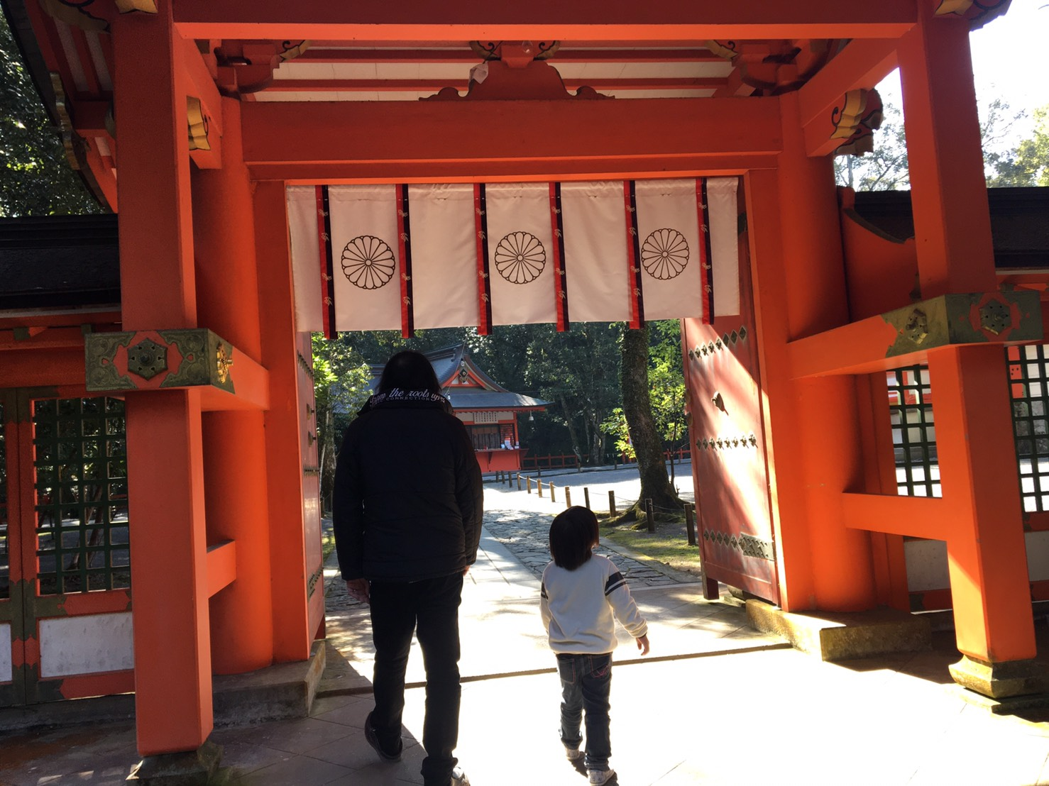 年末に大分県宇佐市にある宇佐神宮にお参りしてきました